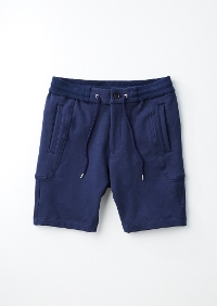 【AKM】SOLID EASY SHORTS -NAVY-
