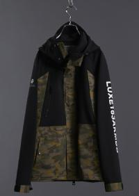 【AKM】LUXSPO ZIP UP MOUNTAIN BLOUSON
