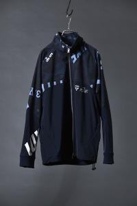 【AKM】LUXSPO TECH ZIP UP COMBI BZ [AKM NAVY]