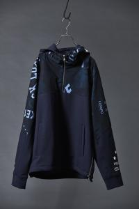 【AKM】LUXSPO-TECH COMBI PULL OVER PARKA [AKM NAVY]